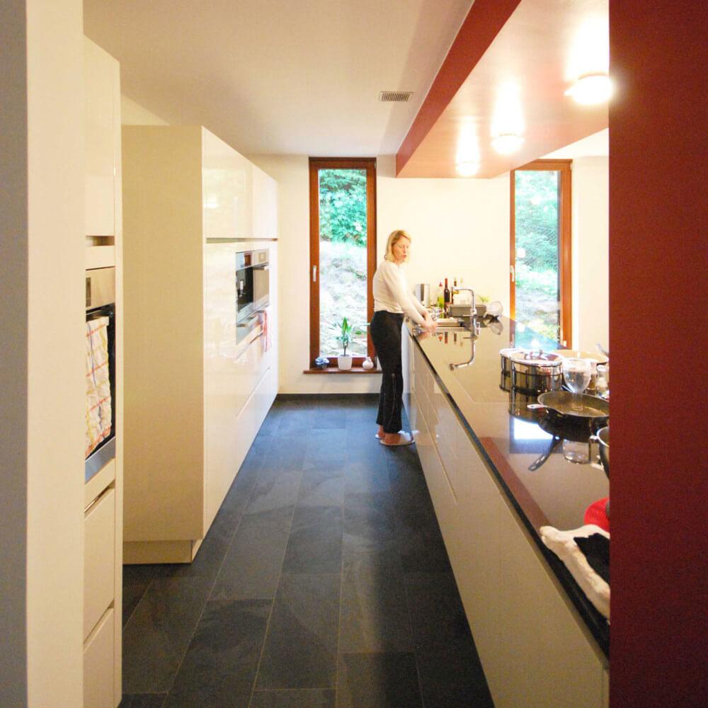 Küche im Projekt Im Felsenbett